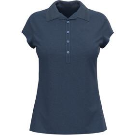 Odlo Kumano Poloshirt S / S Damer, blå